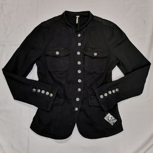 Free People | Button Front Military Jacket NWOT